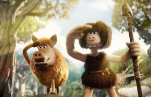 Early Man takes place in Neo-Pleistocene Britain.   (Aardman Animations)