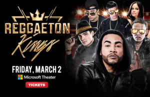 Win tickets to Reggaeton Kings March 2 at Microsoft Theater (Courtesy image)
