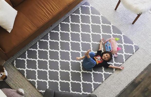 Comfort Design Mats Make For Kid Friendly And Trendy Home