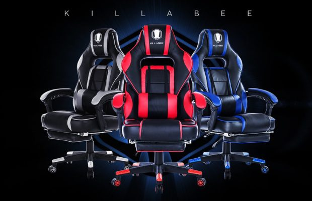 why you should buy the killabee big and tall 400lb gaming chair living out loud los angeles. Black Bedroom Furniture Sets. Home Design Ideas